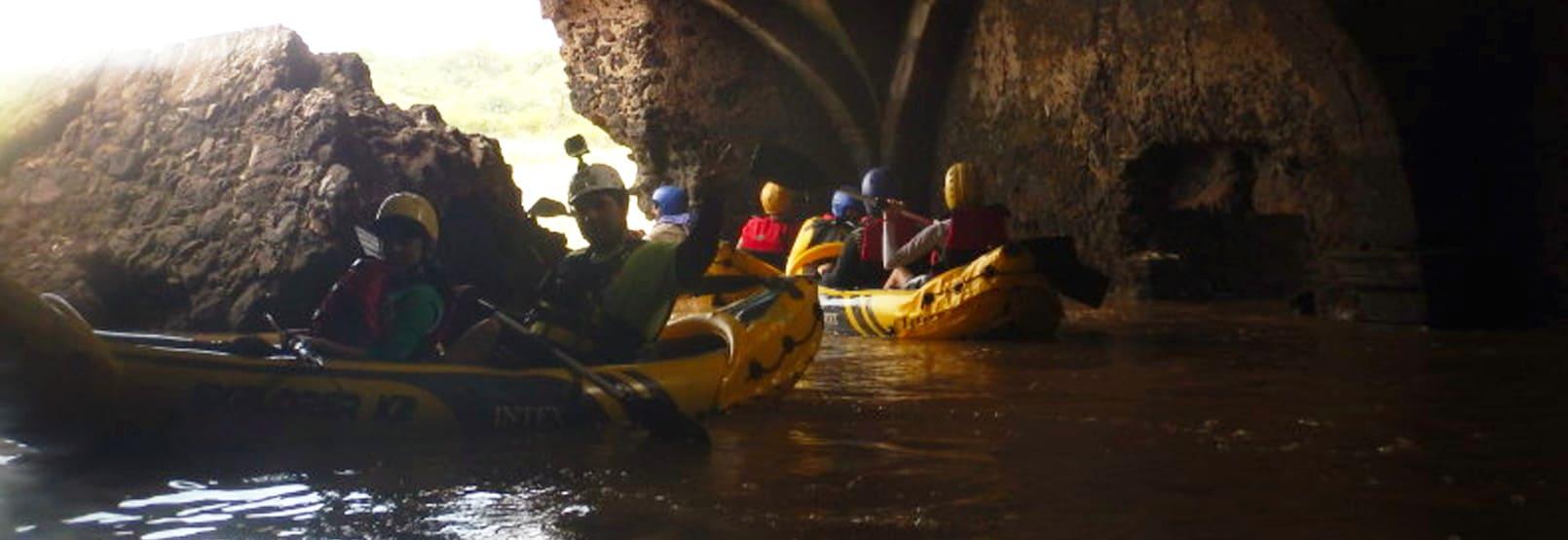 Kayaking in Guanajuato