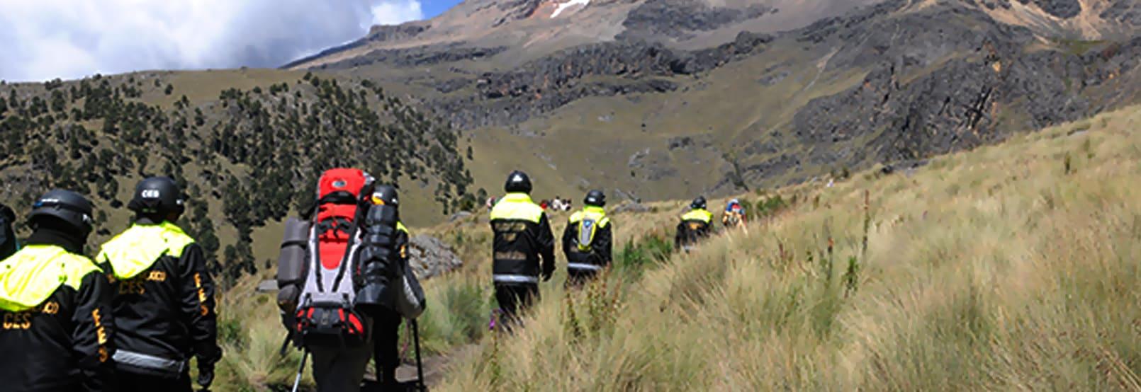 Mountaineering in Guanajuato