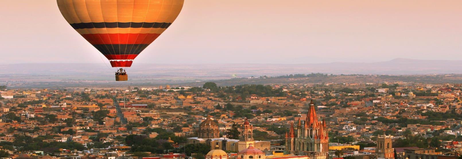 Balloon Flight in Guanajuato