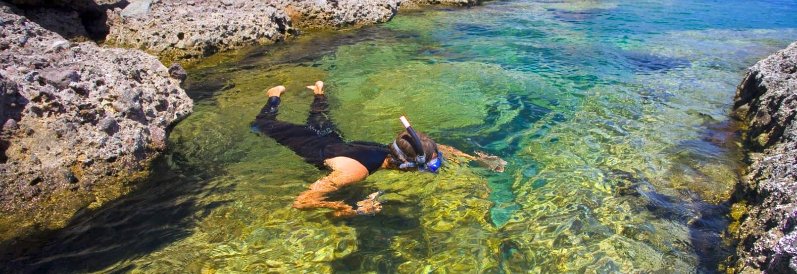 Snorkel en Loreto